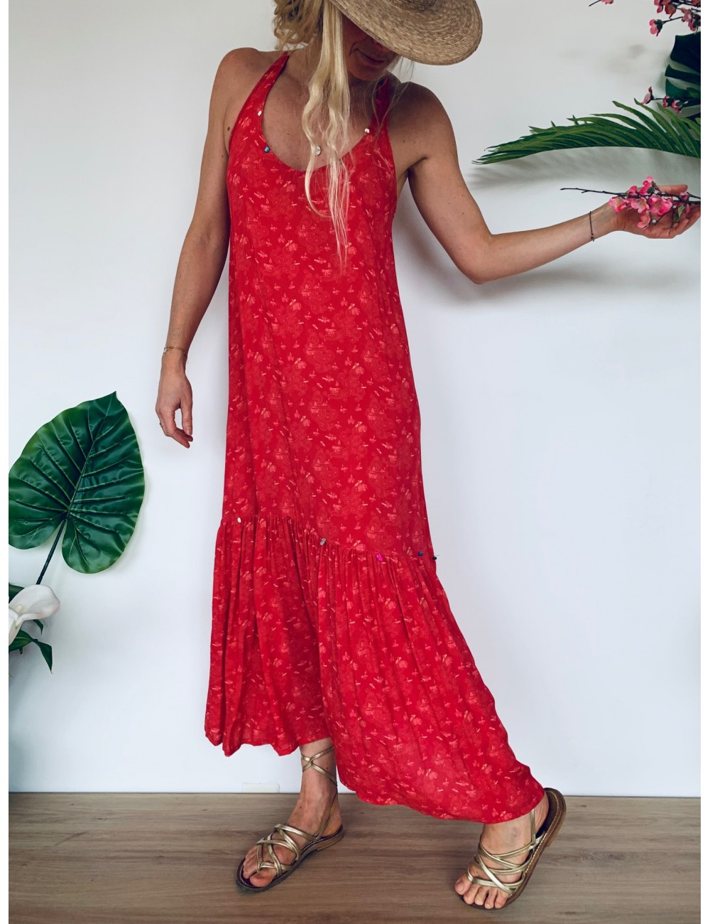 Marcella Dress - Collection Beach In' - Ema Tesse