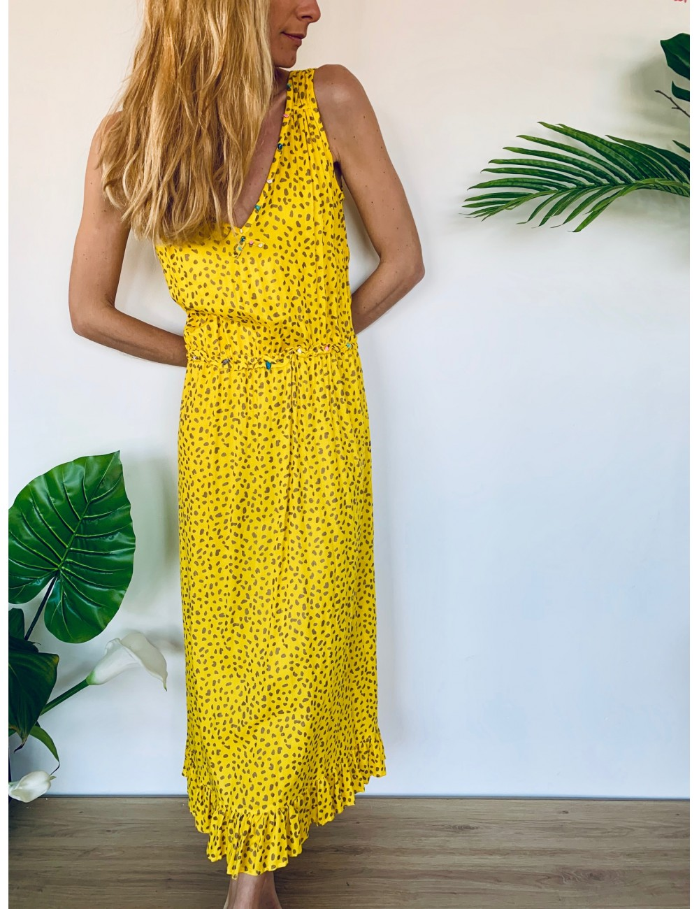 Liam Long Dress - Collection Beach In' - Ema Tesse