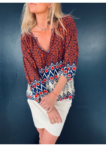 Folk Blouse - Collection Fall in Love 2019 - Ematesse