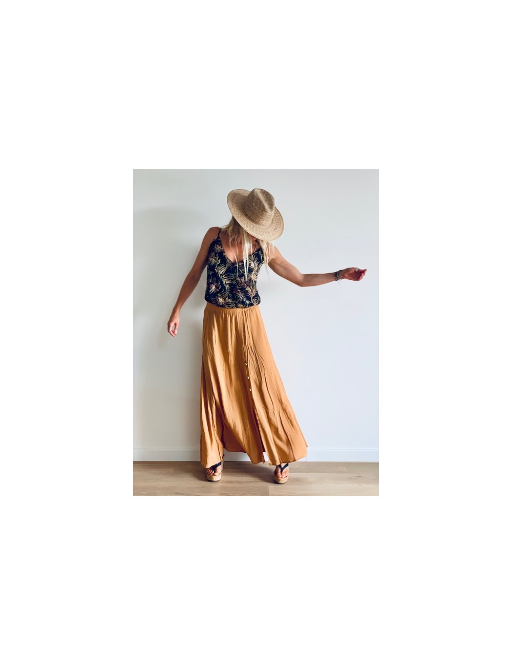 Paradise Long Skirt - Collection spring summer 2020 - Ematesse