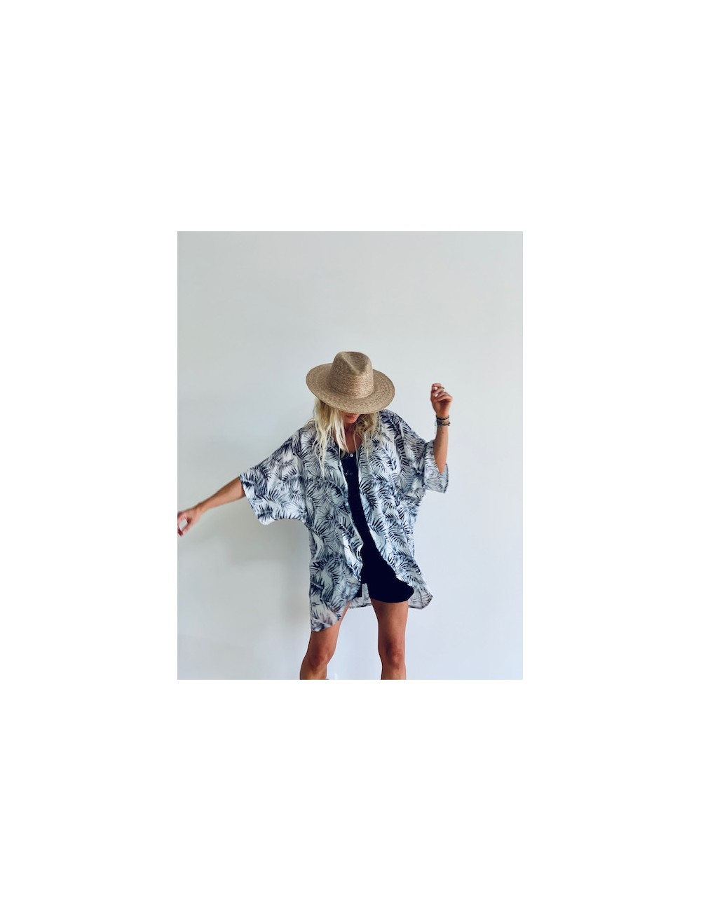 ROSA Kimono - ROCK N ROLLA Collection spring summer 2020 - Ematesse