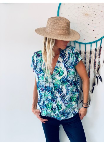 Cali Blouse - Collection Ocean love 2020 - Ematesse
