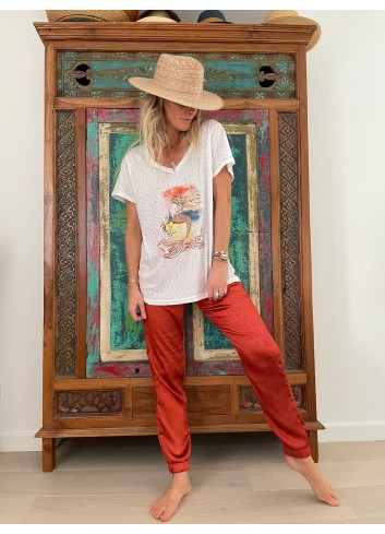 Tee shirt - Ema Tesse - Coton bio - mermaid - edition limitee